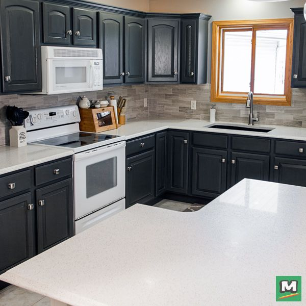 Design Your Dream Kitchen With RiverStone™ Quartz Countertop! Available In  18 Vibrant Colors And