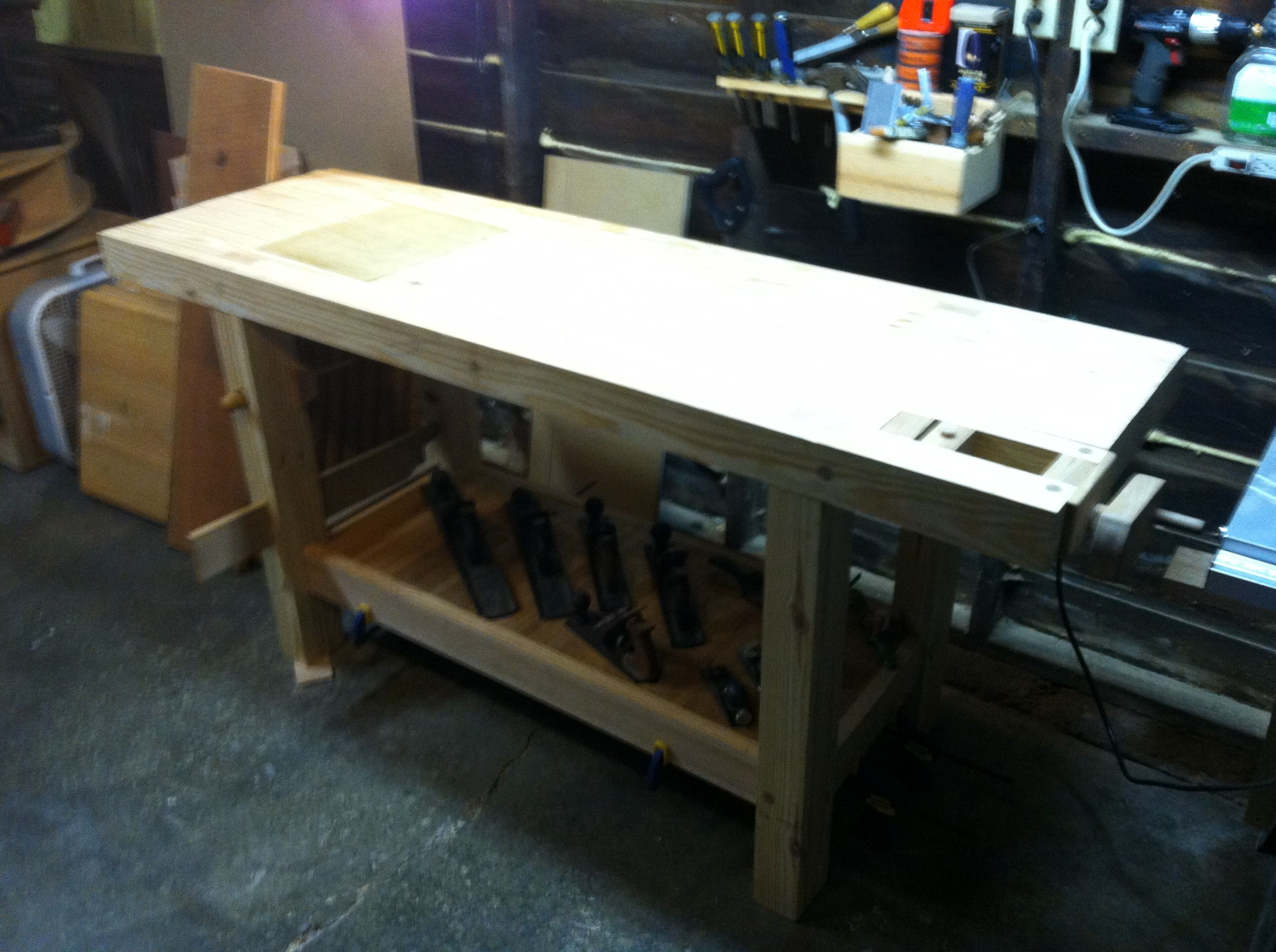 Southern Yellow Pine Workbench