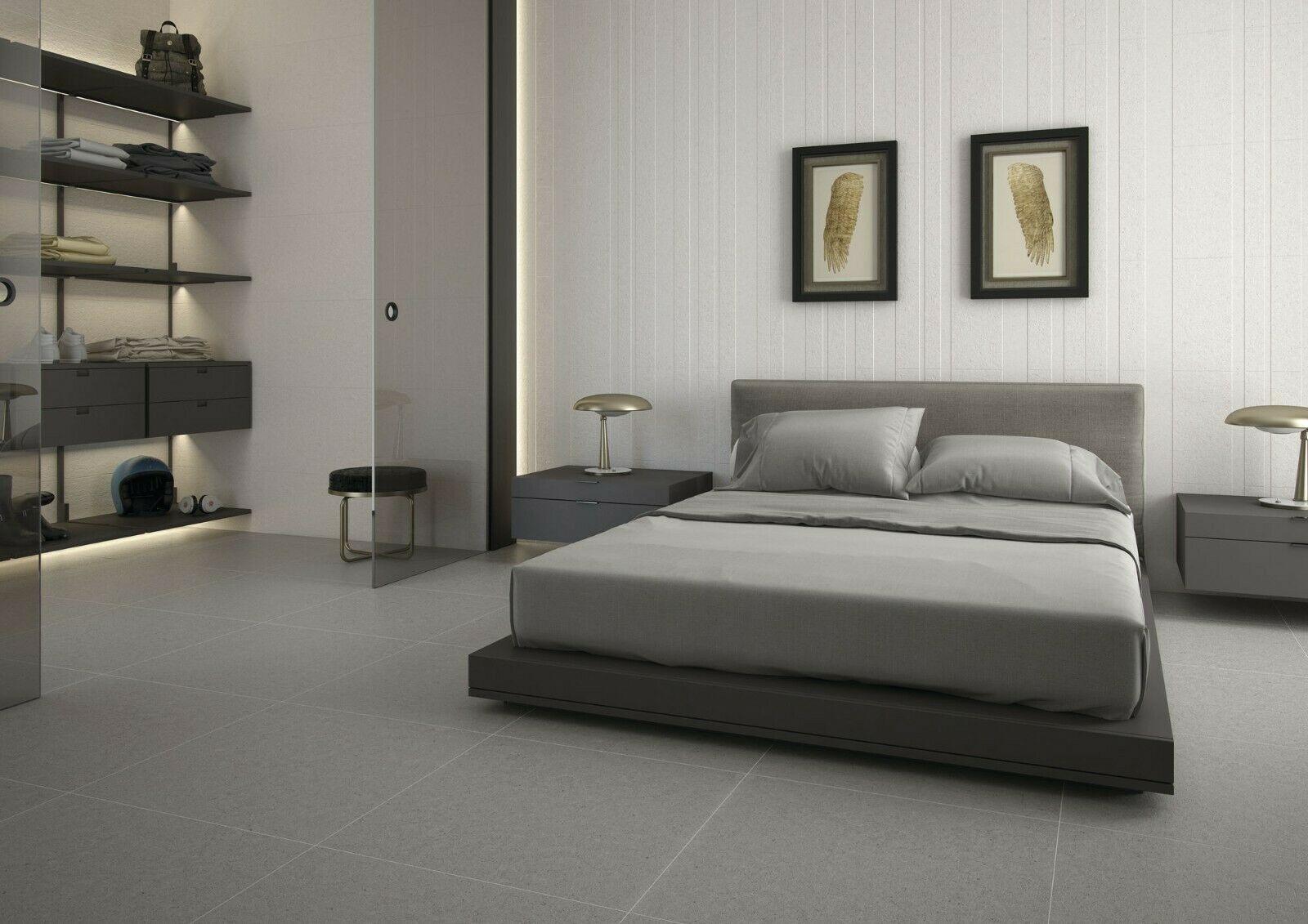 Modern White And Grey Master Bed Google Search Minimalist Bedroom Contemporary Bedroom Design Minimal Bedroom Design