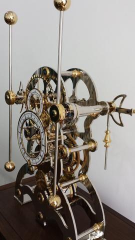 Regal H 1 Grasshopper Clock Vintage Clock Antique Clocks Skeleton Clock