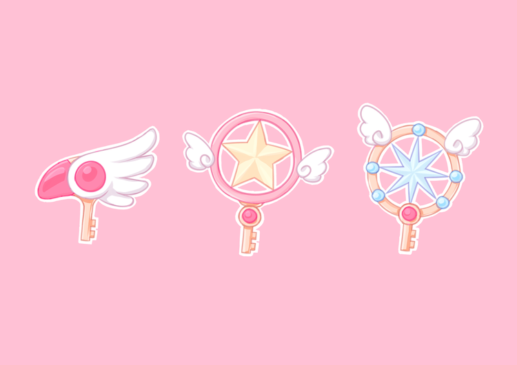 Image About Cute In Card Captor Sakura By Naho From We Heart It Cardcaptor Sakura Sakura Card Sakura Tattoo