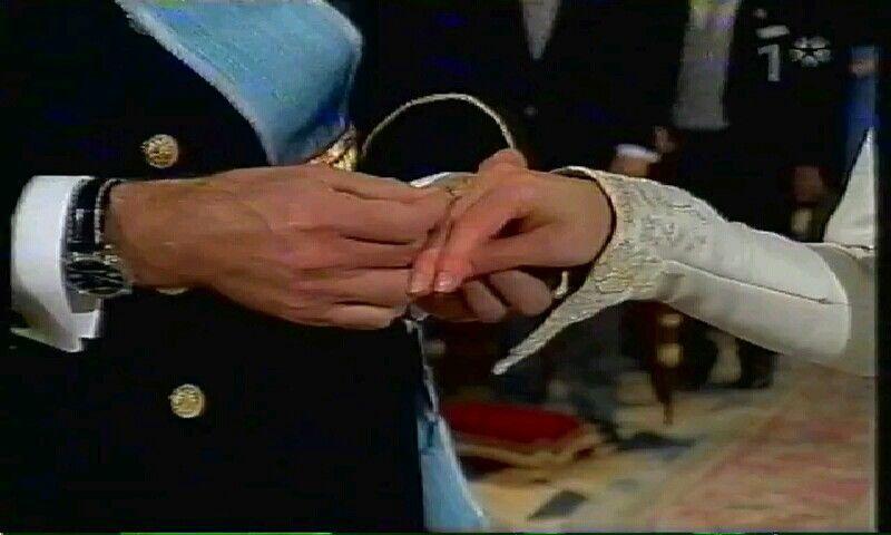 Wedding rings Cas Principe Filipe e Letizia Pinterest Ring