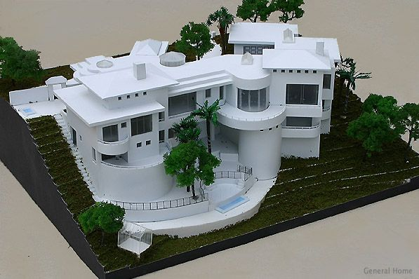 Architectural Model San Dimas Home Architecture Model House