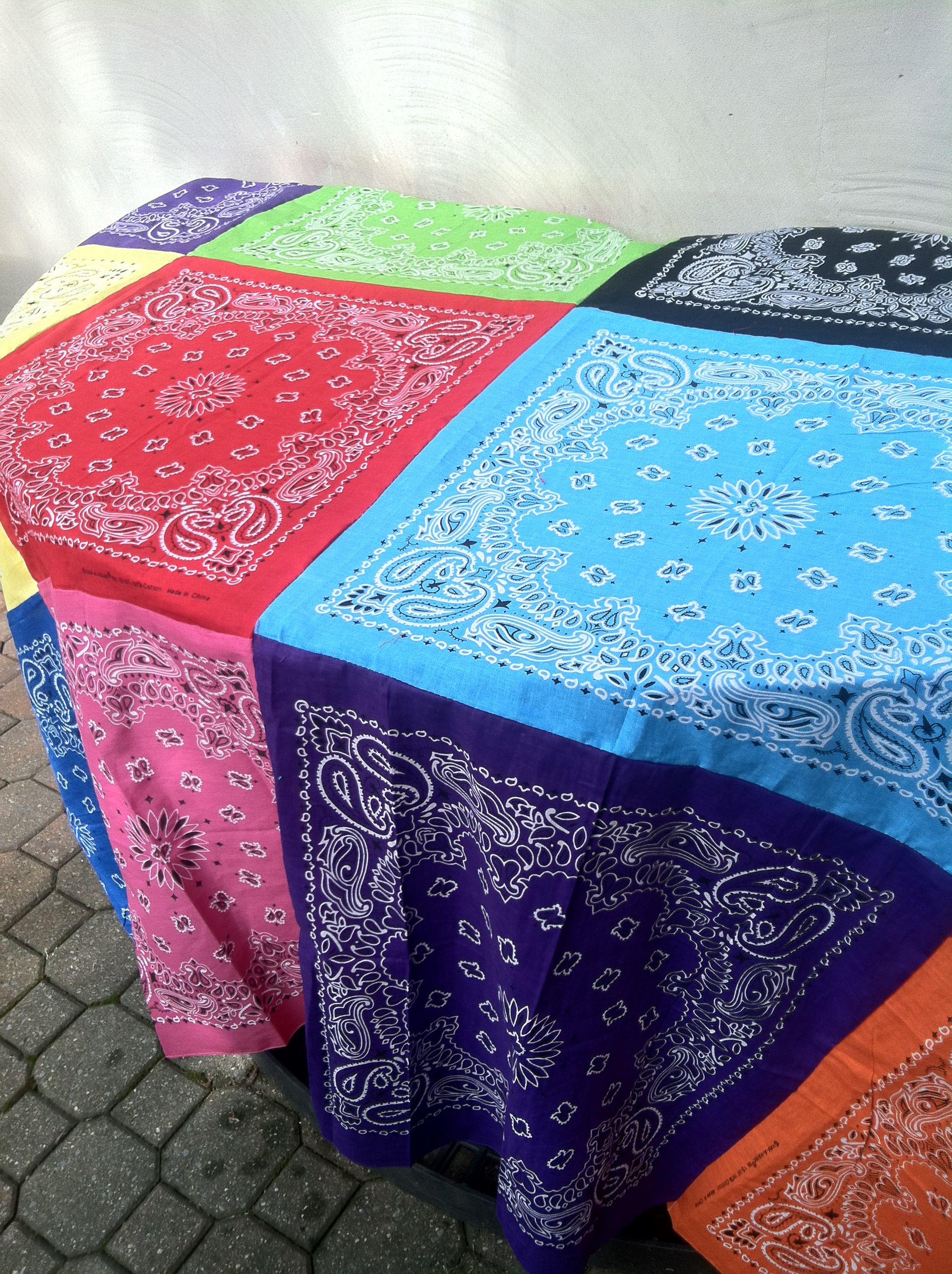 Diy Tablecloth Or Make It Into A Picnic Mat By Adding