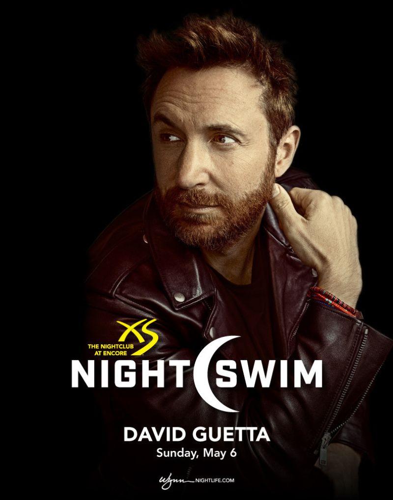 XS PRESENTS DAVID GUETTA Sunday May 06 2018