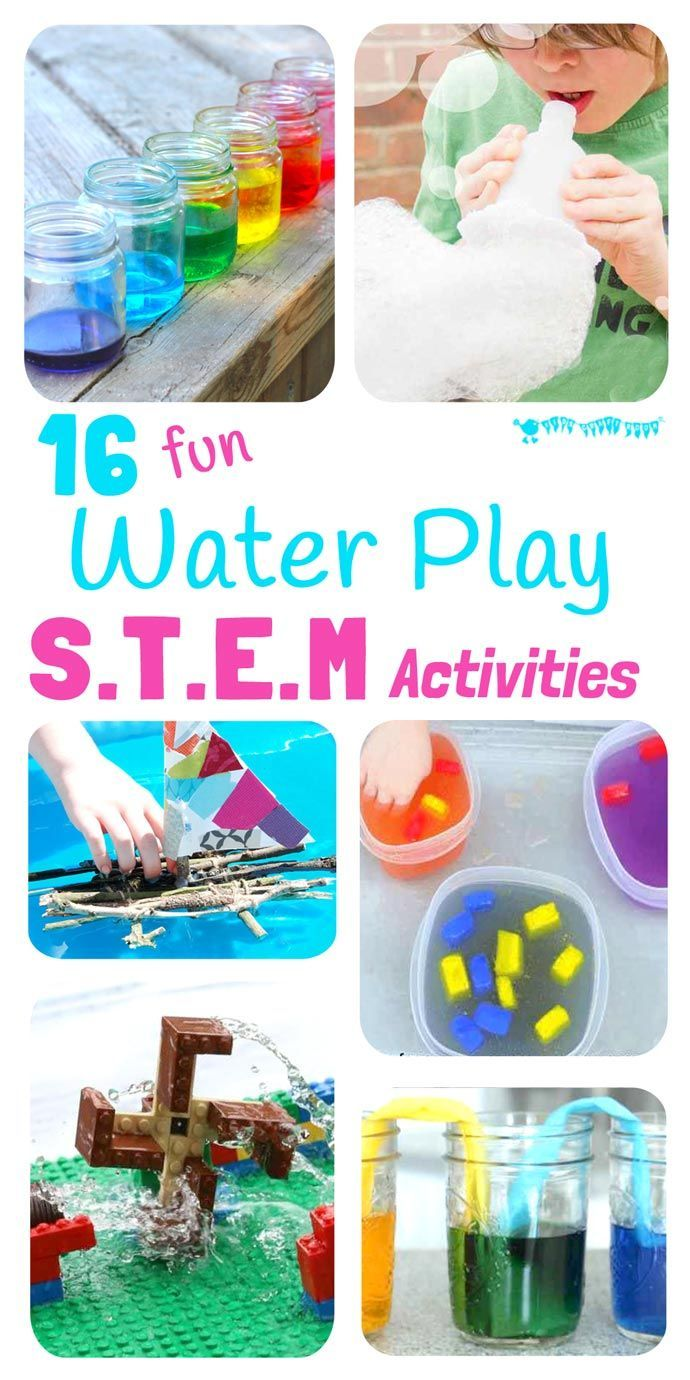 16 Exciting Water Play Stem Projects Stem Projects For Kids