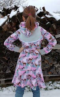trägerkleid von klimperklein als wintervariante  kleider modestil langärmliges kleid