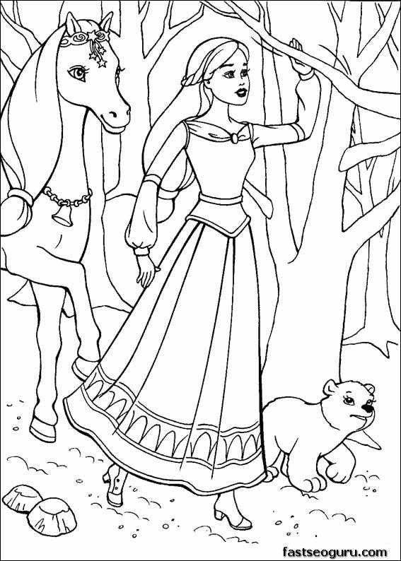Disney Princess Coloring Pages Page Not Found Printable Coloring Pages For Kids Unicorn Coloring Pages Horse Coloring Pages Barbie Coloring