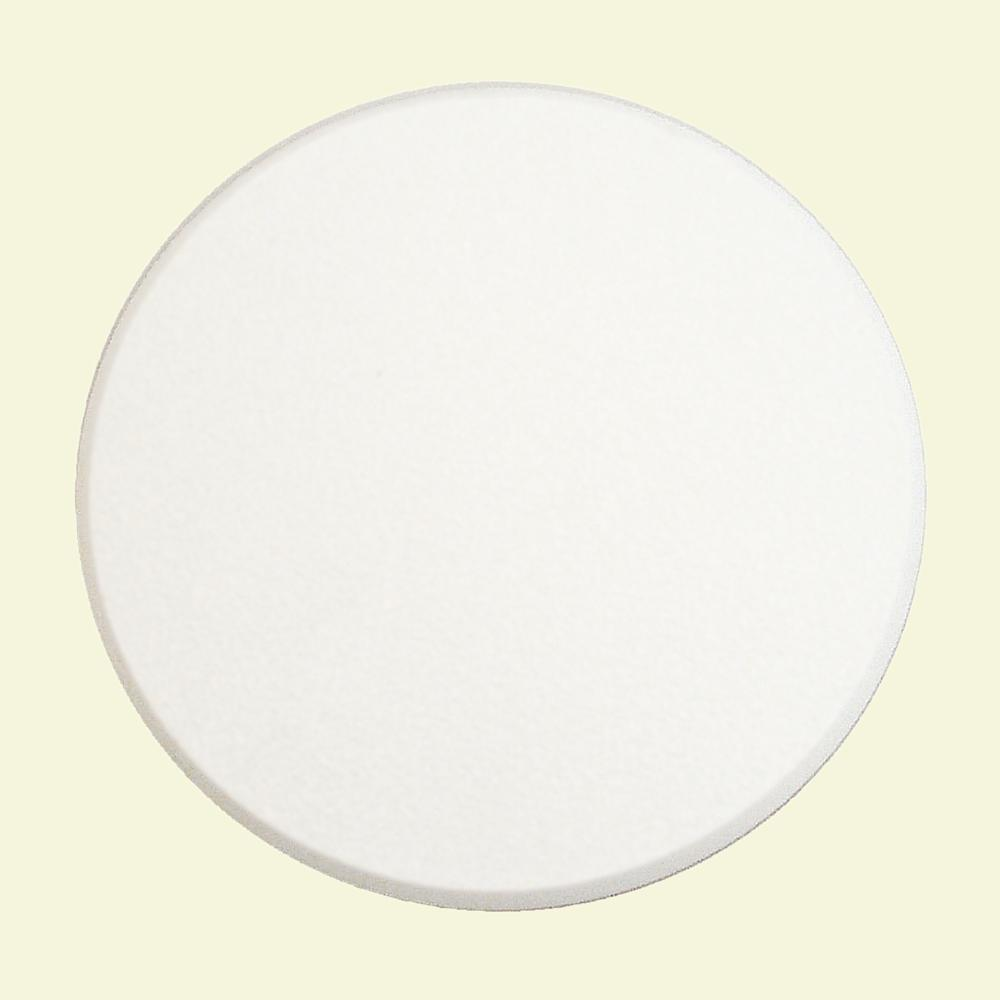 Prime Line 5 In White Adhesive Backed Textured Wall Protector U