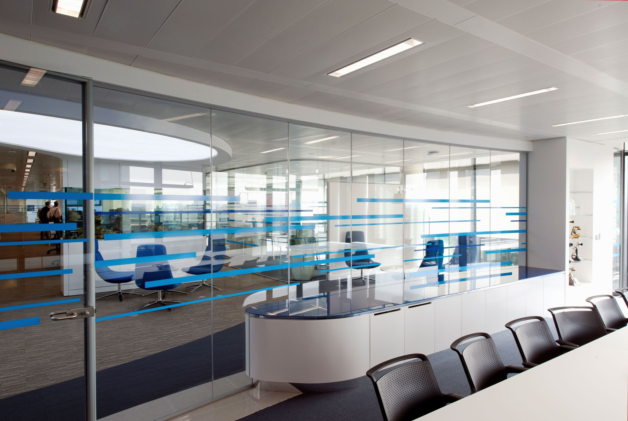 new office designs. Case Study Detailing The Office Design And Fit-out Undertaken By Maris Interiors For Liquid Telecom At New Street Square, London. Offices Designs