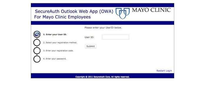 Mayo Email Login Page Url Login Page Email Email Service