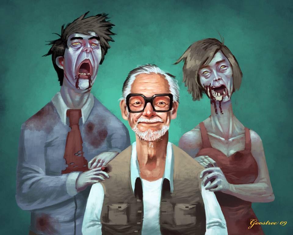 George Romero and friends