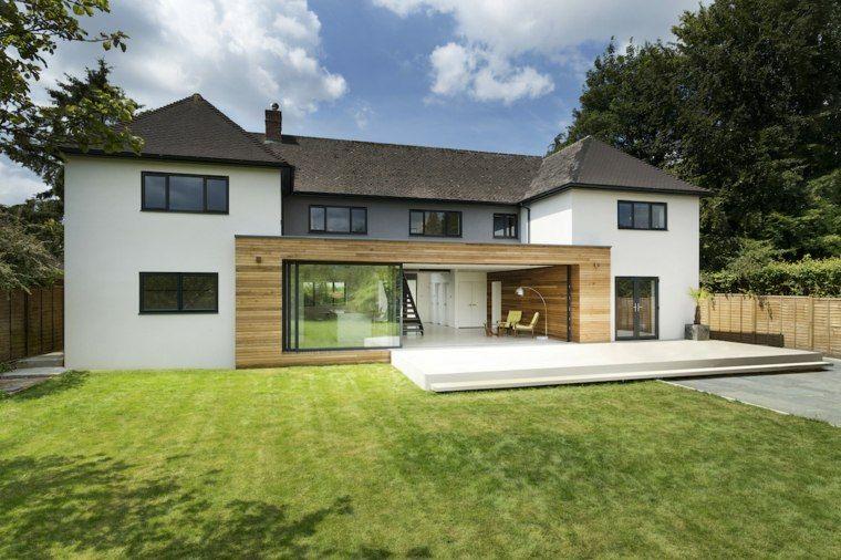 Extension maison bois : moderne et fonctionnelle | Architecture ...