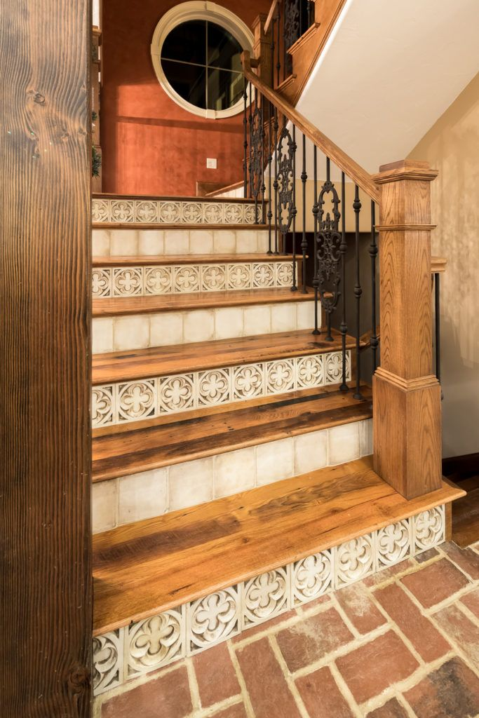 Beautiful Staircase in the Downing Barn Home.