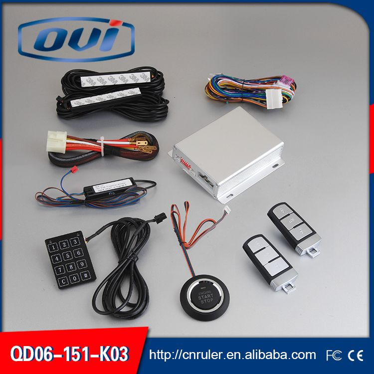 2016 New engine immobilizer system voltage DC 12v keyless entry push ...