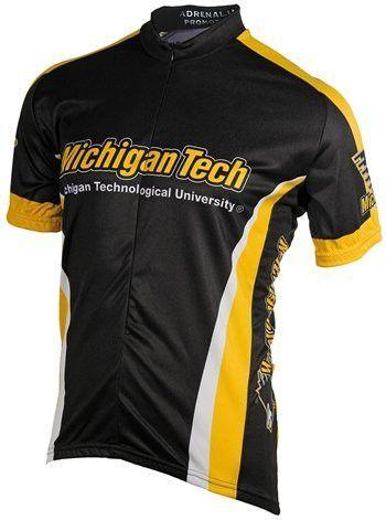 648b2f11d NCAA Men s Adrenaline Promotions Michigan Tech Huskies Road Cycling ...