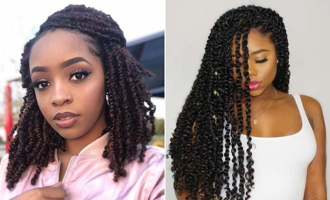 25 Gorgeous Passion Twists Hairstyles #passiontwistshairstyle