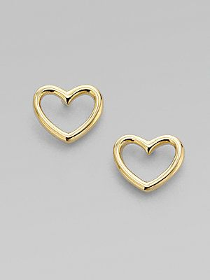 Marc By Jacobs Heart Shaped Earrings Valentine 42