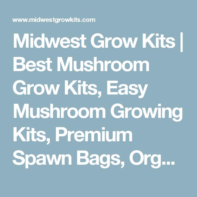 Midwest Grow Kits | Best Mushroom Grow Kits, Easy Mushroom Growing