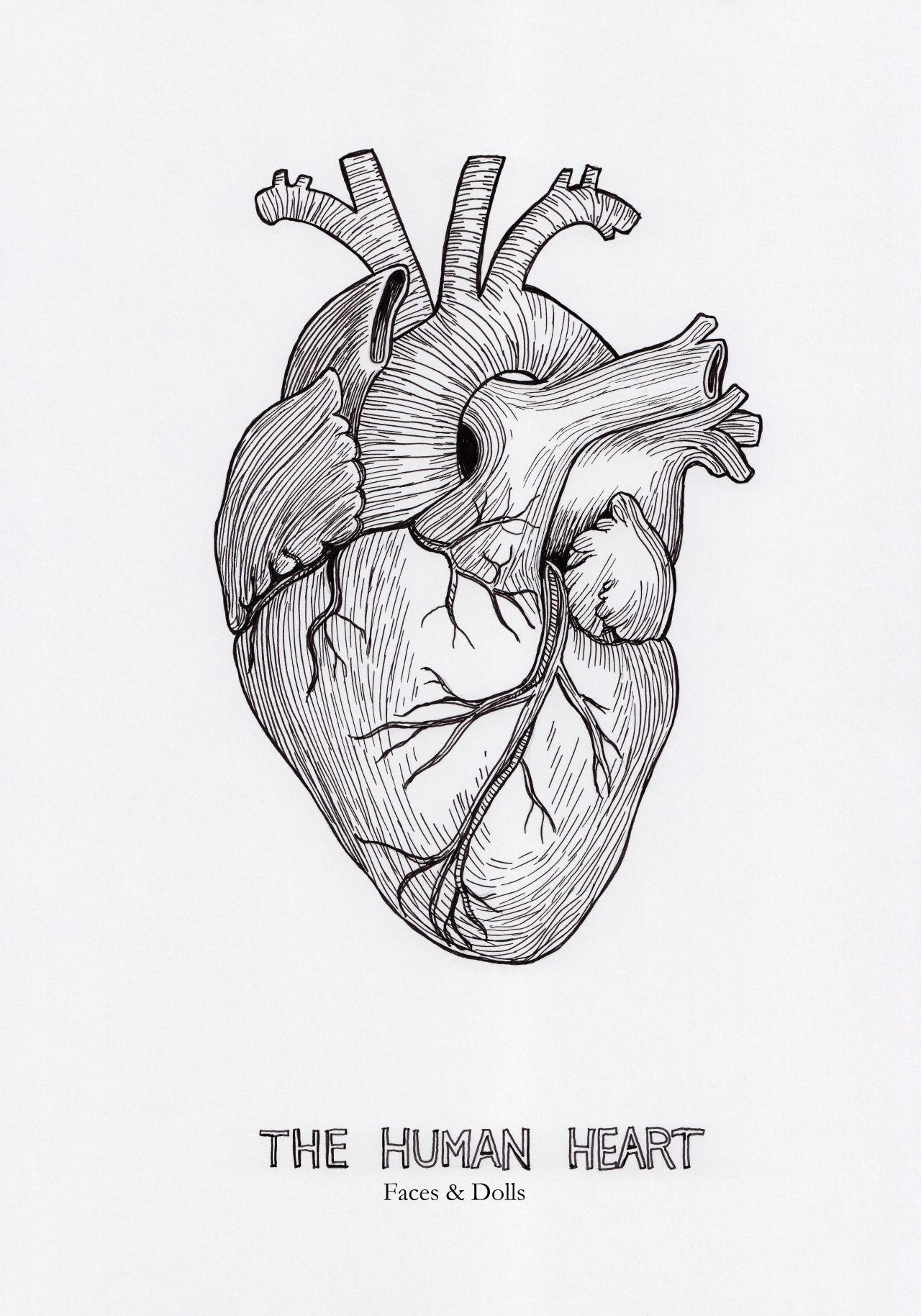 Pin by Katrina Cosmos on Art Sketch tattoo design, Heart