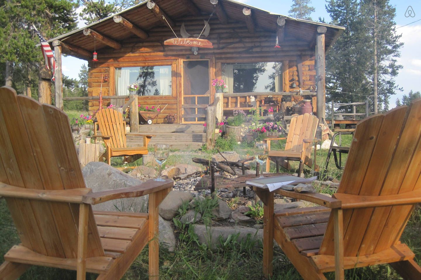 Secluded Cabin Experience Vacation Rental In Yellowstone National