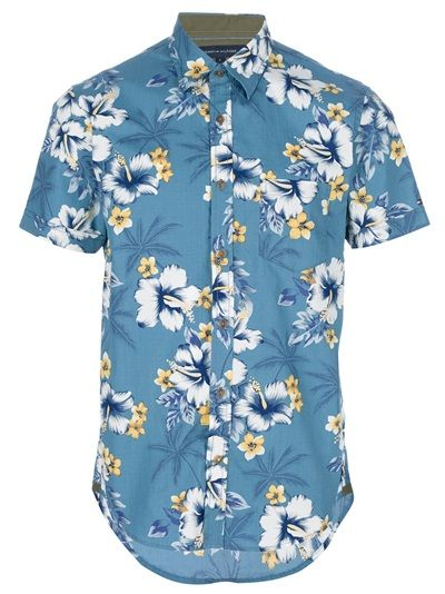 41ea9c84a TOMMY HILFIGER Floral Print Shirt To continue my floral obsession ...
