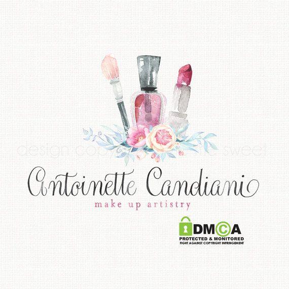 beautician logo design make up artistry logo by stylemesweetdesign