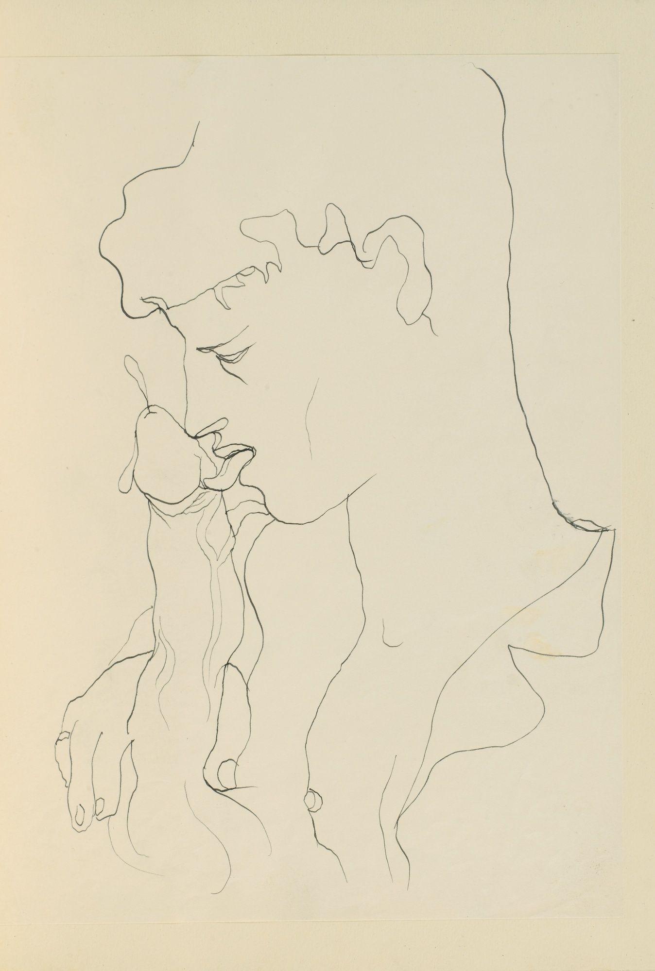 Jean Cocteau Dessin pour illustration de Querelle de Brest de Jean ...