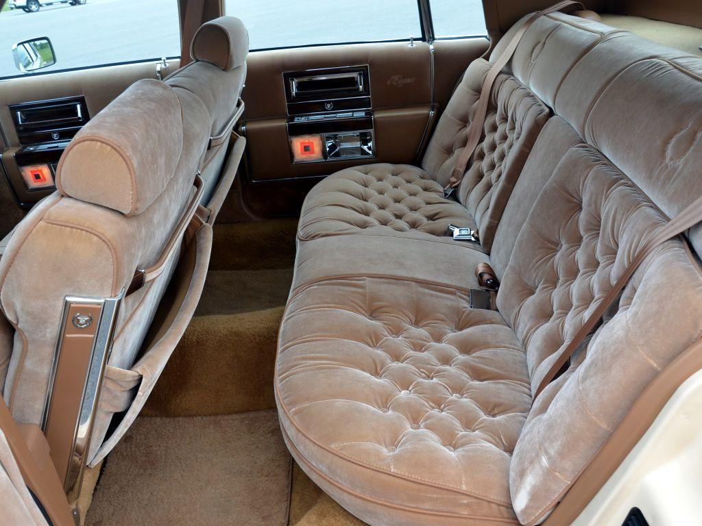 1987 Cadillac Eldorado Interior