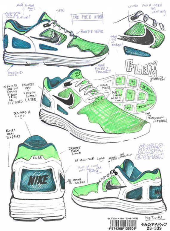 Inside Nike Sportswear Designer Nate Van Hooks Sketchbook Product