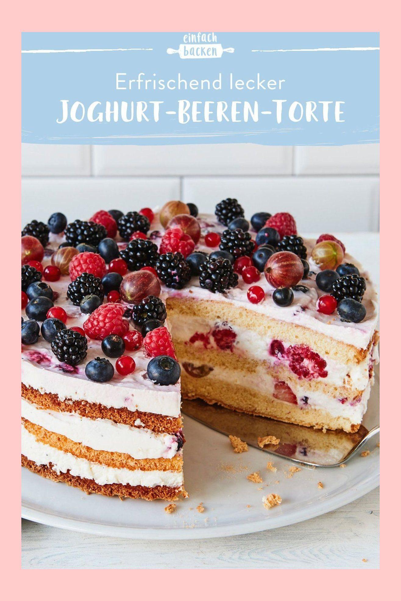 Beeren Frischkasetorte Rezept Kuchen Und Torten Kuchen Und Torten Rezepte Und Frischkasetorte