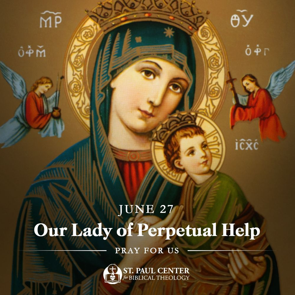 Pin by St. Paul Center on Saint of the Day Holy mary