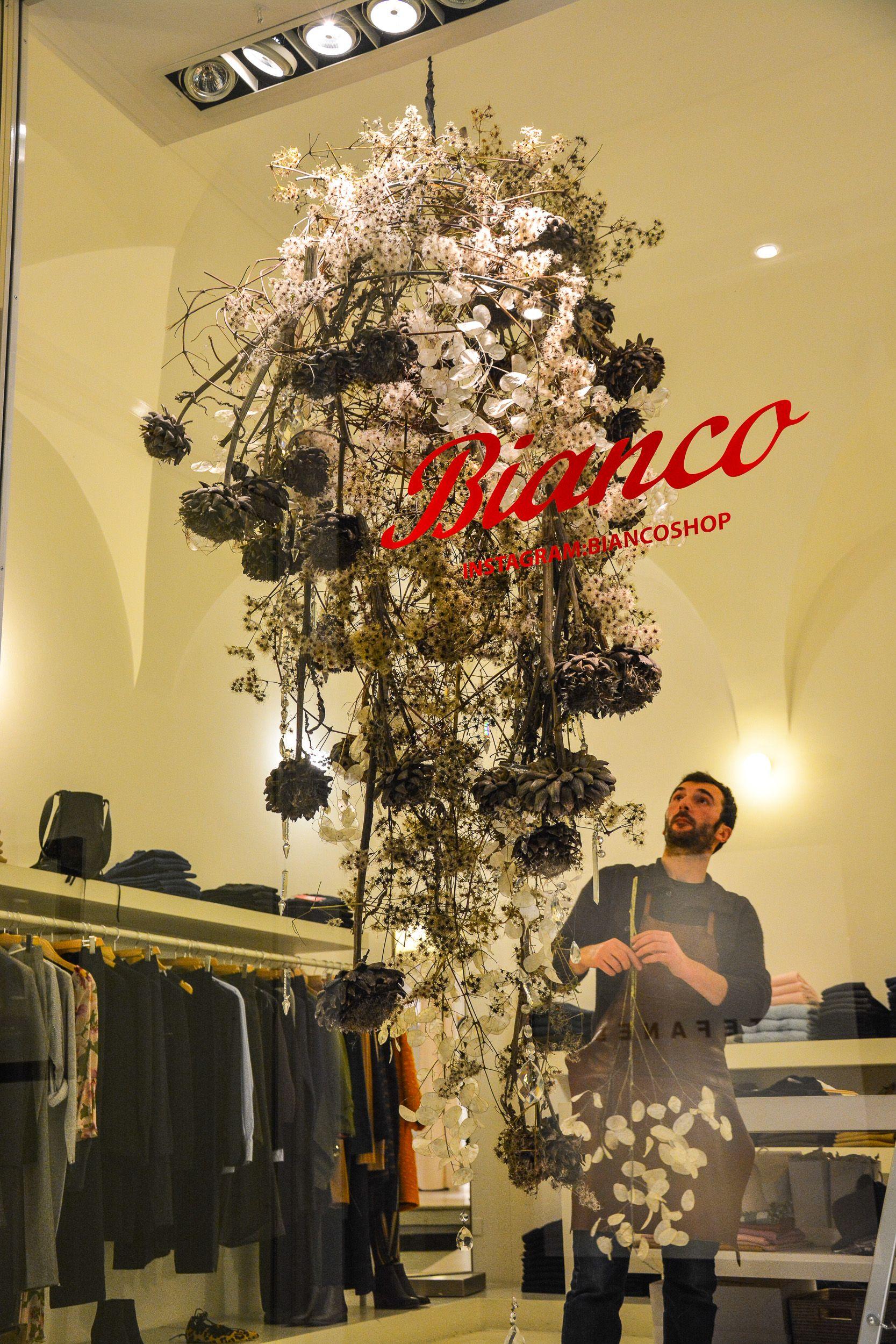 Flò Fiori con Roberto Dapoto per Bianco shop www.flofiori.com   Il ...
