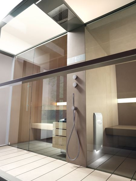Sauna e bagno turco insieme con Logica Twin | Bath | Pinterest ...