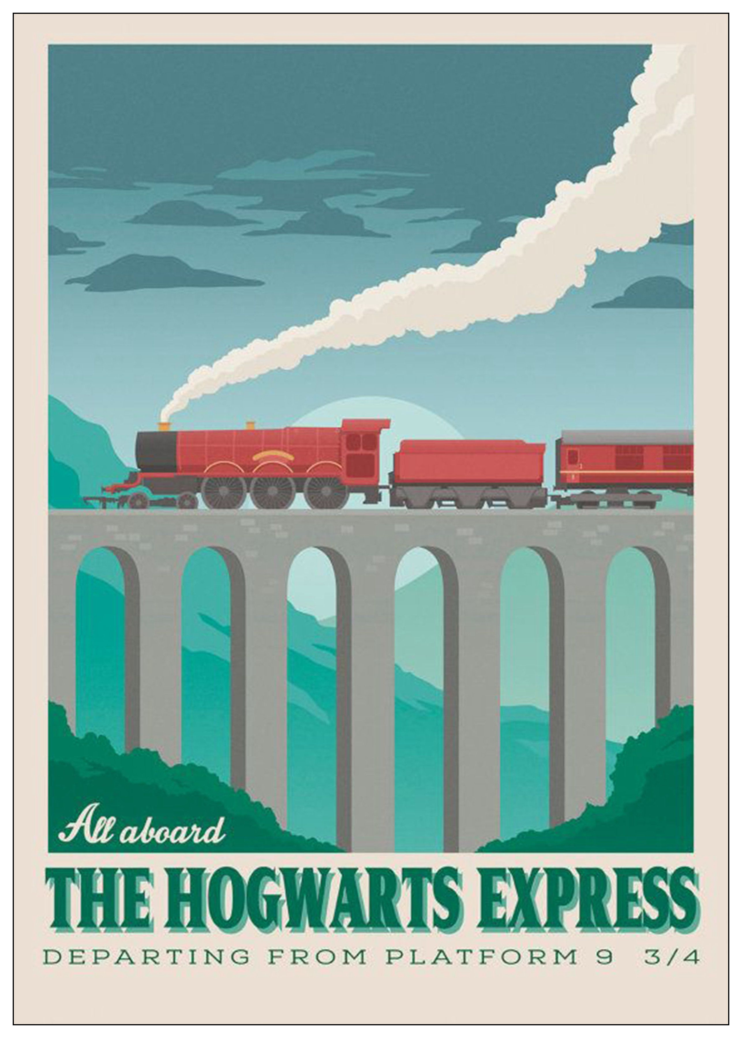 Pin By Sese On Harry Potter Harry Potter Wall Art Harry Potter Travel Poster Harry Potter Poster