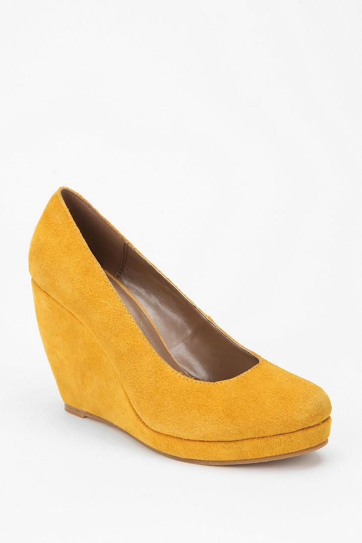 Cooperative Suede Platform Wedge | Shoes Shoes Shoes ...
