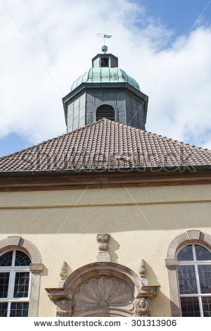 Historical church in Goettingen, Germany