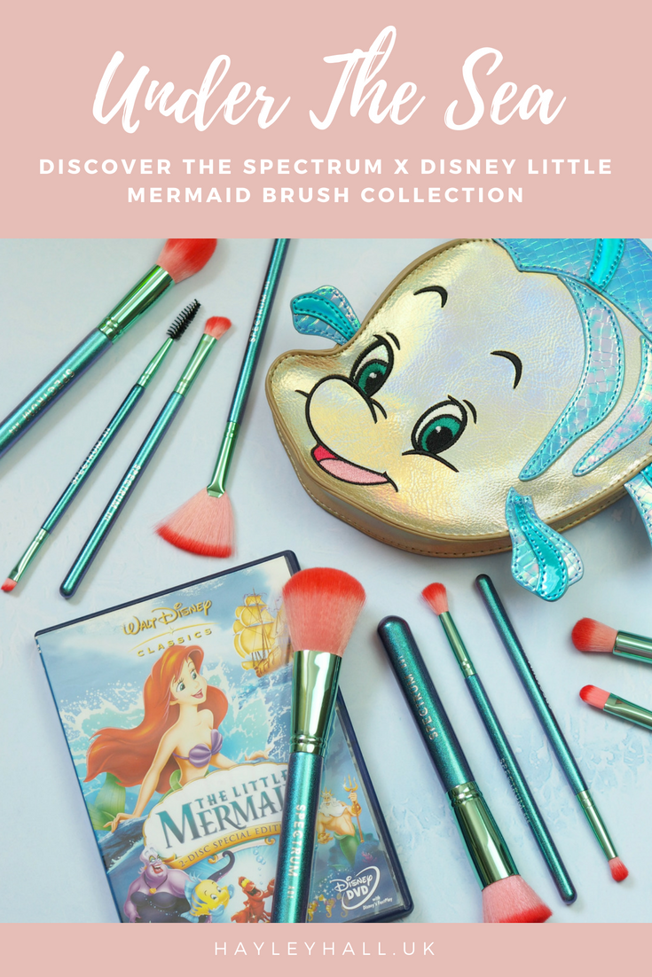 Under The Sea Spectrum Brushes Launch 'The Little Mermaid