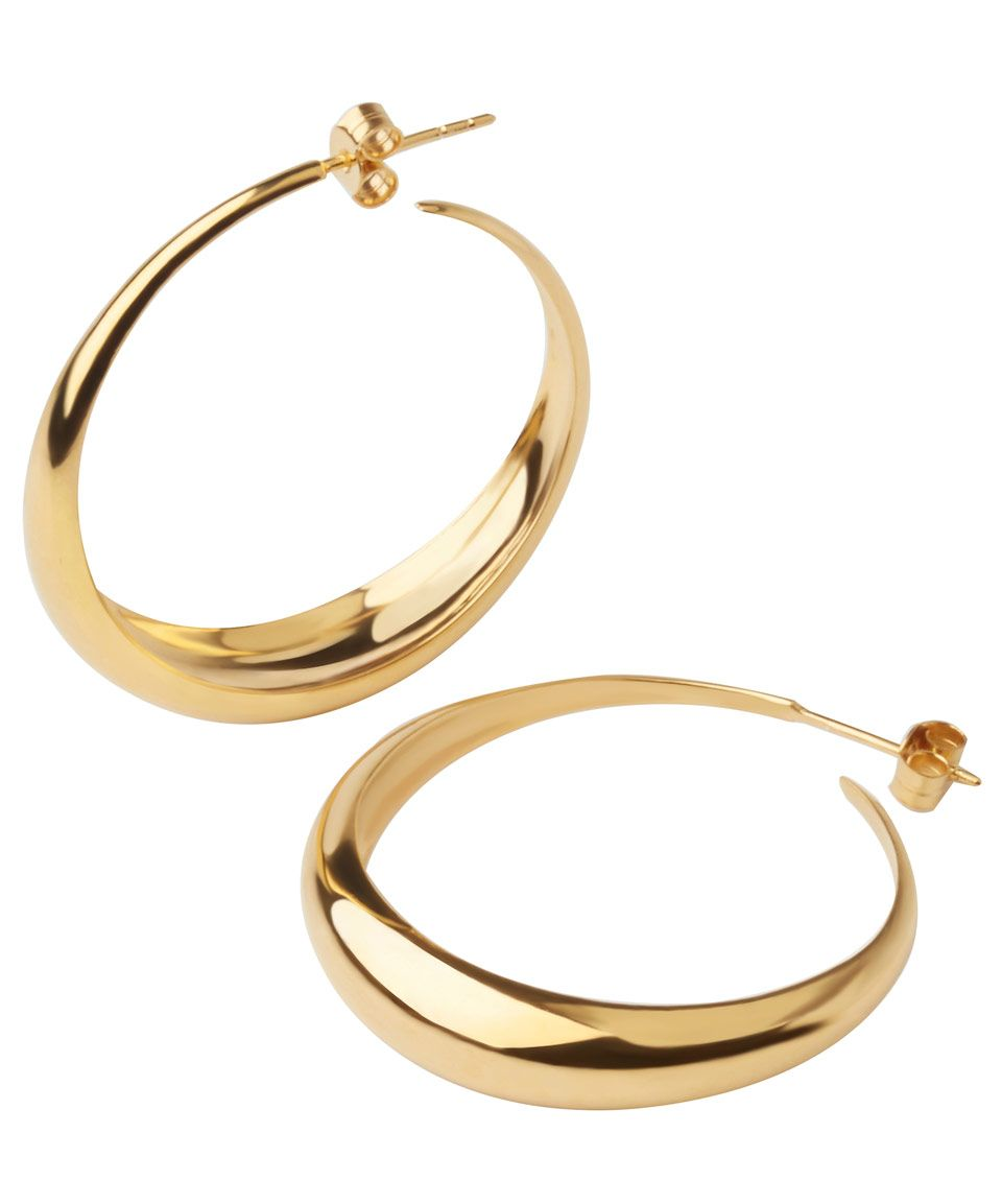 34bb85e0d525c Dinny Hall Gold-Plated Signature Scoop Hoop Earrings | Accessories ...