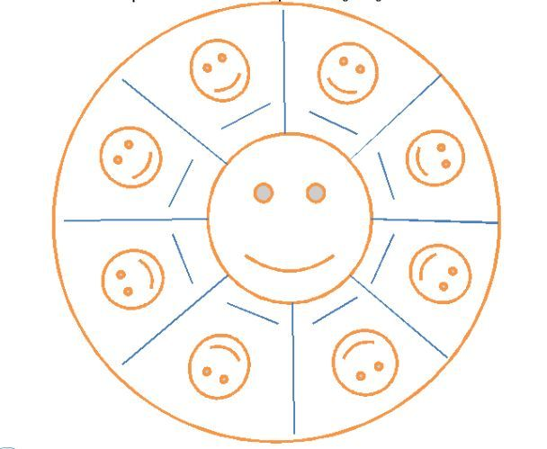 Positive Behavior Management Chart For Children  The Smiley Face