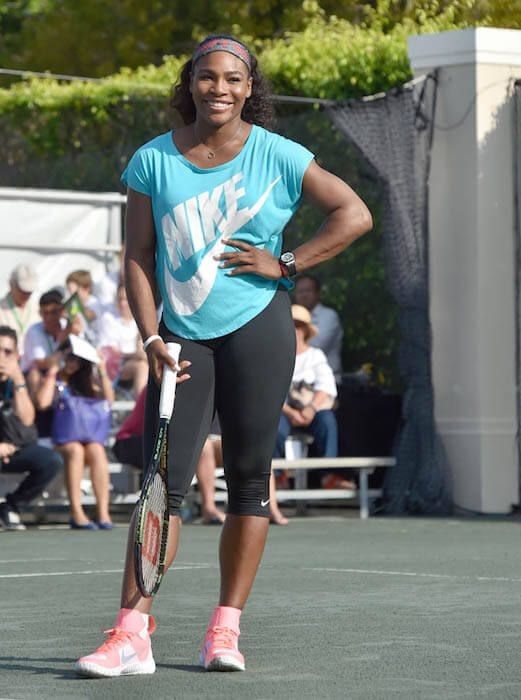 serena williams height weight body statistics. Black Bedroom Furniture Sets. Home Design Ideas