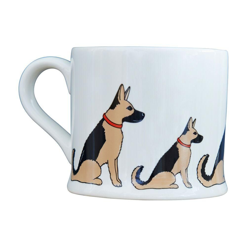 German shepherd mug dog themed gifts dachshund decor