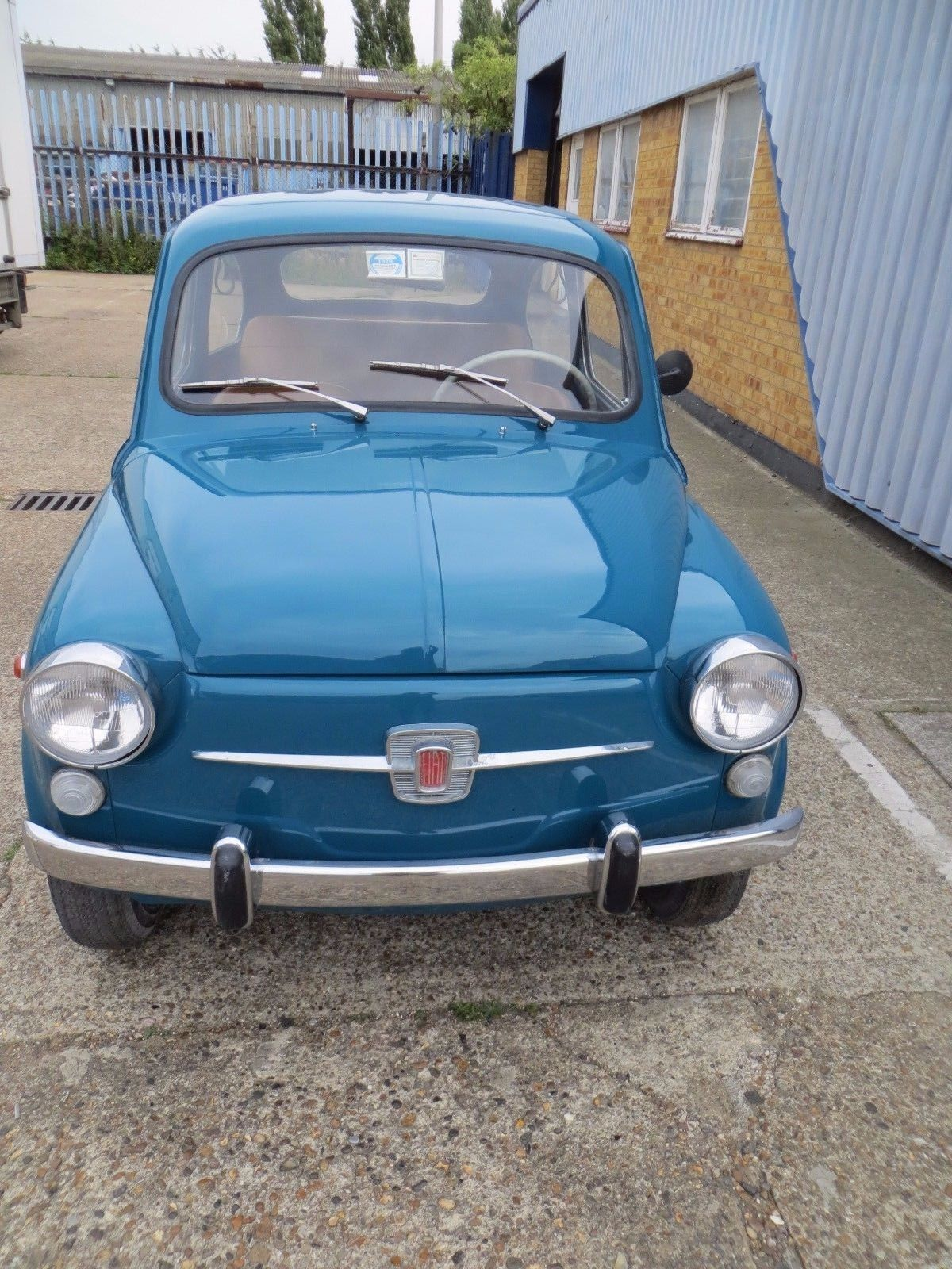 eBay: Italian 1969 Fiat 600 D Excellent Used Car Repainted With ...