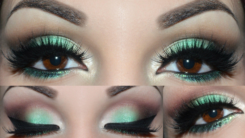 Emerald Green Makeup Tutorial Green makeup, Makeup for