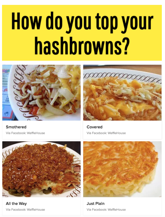 21 Quizzes For People Deeply Obsessed With Food | Buzzfeed
