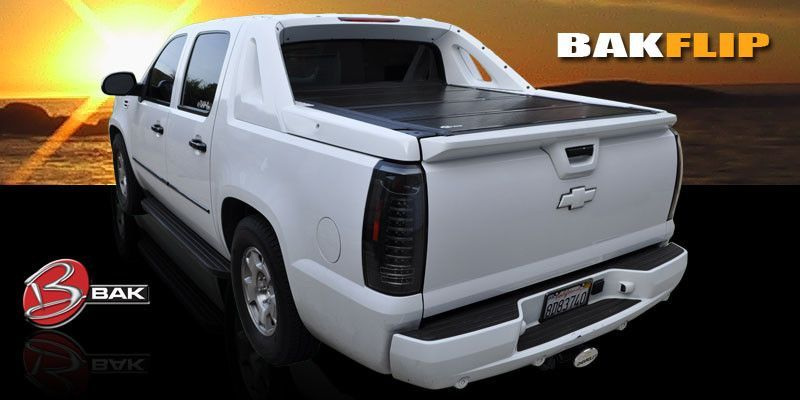 Bakflip Tonneau Bed Cover Fits All Chevy Avlanches Truck