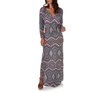 7116c0a0086 Seafolly Dresses - Seafolly Indian Summer Silk Maxi Kaftan - Black ...