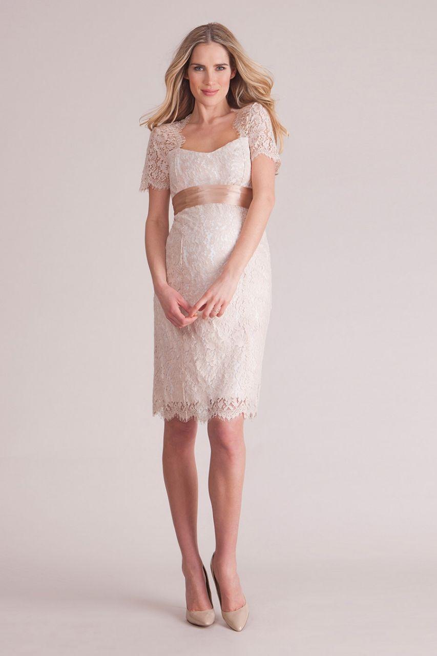 Lizzie Seiden Umstandskleid rose | Seidenkleid, Umstandskleider und ...