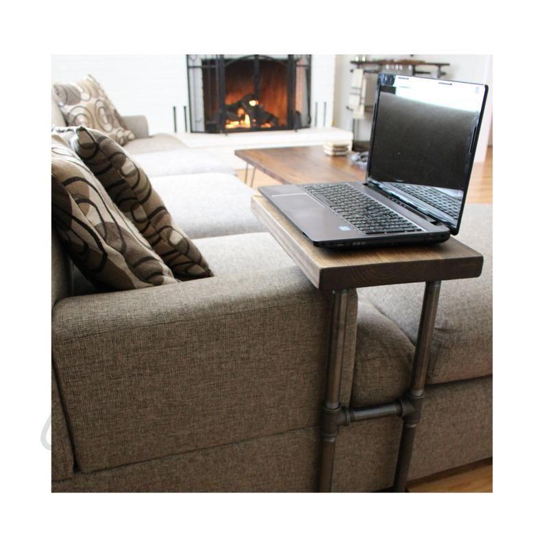 Bogo Mobilier Industriel Table Basse Table D Appoint Laptop Stand Bout De Canape Table D Ordinateur Ctable Table Basse Meuble Et Meubles Industriels