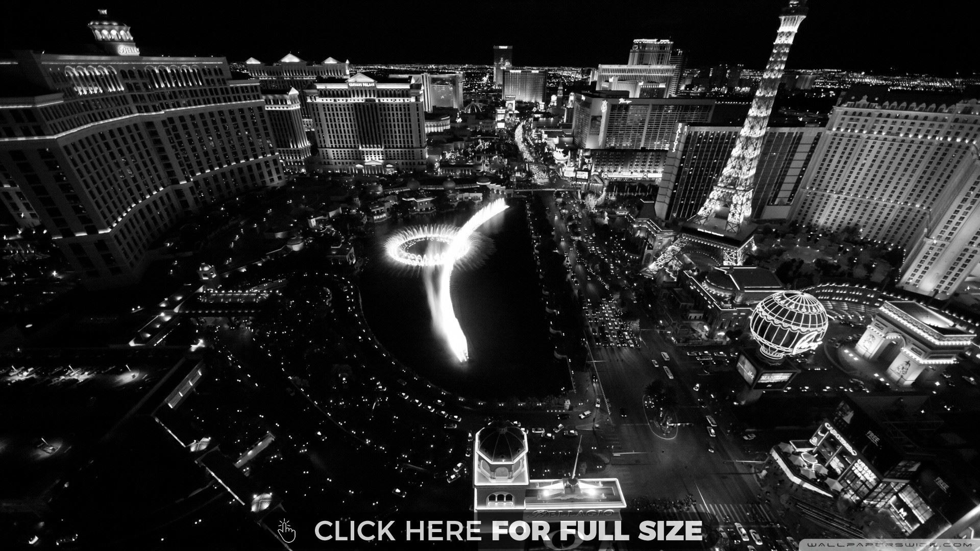 Las Vegas Wallpaper Black And White 4683 Travel